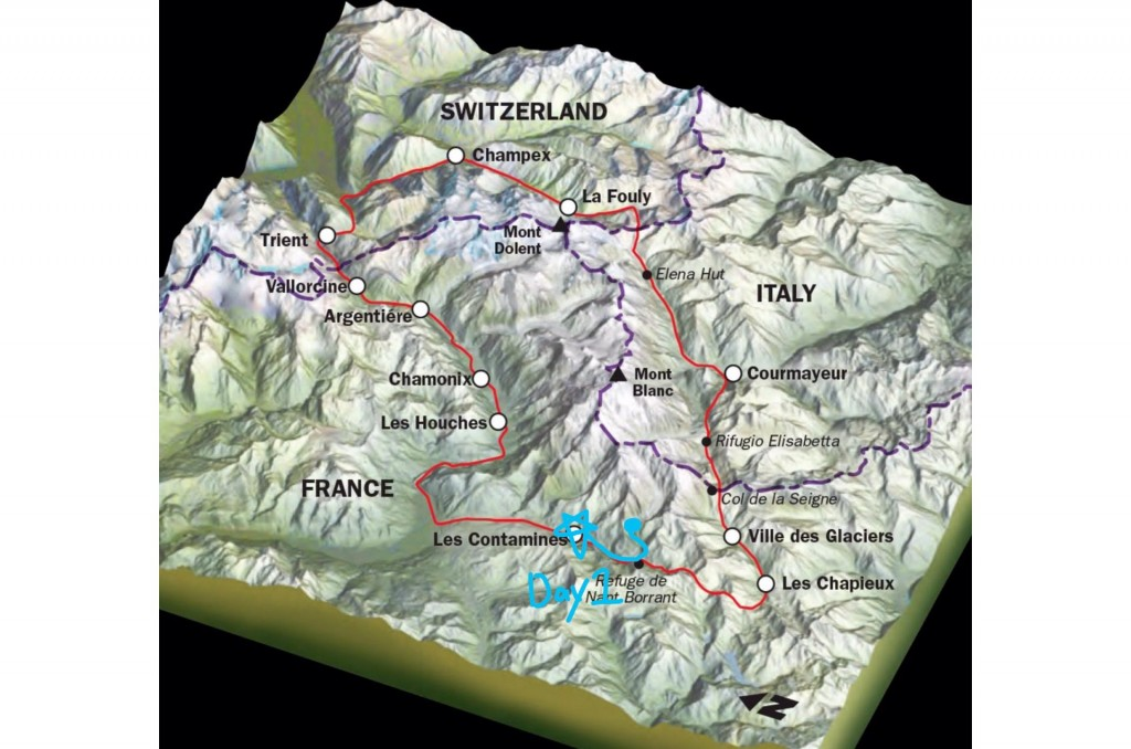 TMB Day1 route